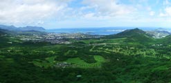 Hawaii Panoramic Photograph